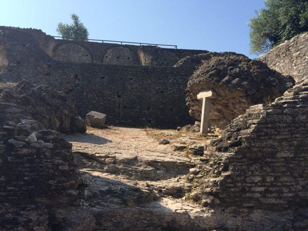 Grotten des Catull Sirmione Italien