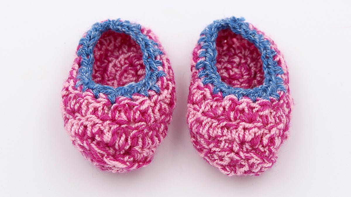 Babyschuhe Häkeln Einfache Anleitung Für Anfänger Happy Dings