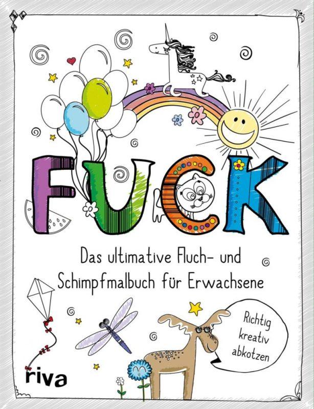 Malen für Erwachsene Schimpfwörter Malbuch