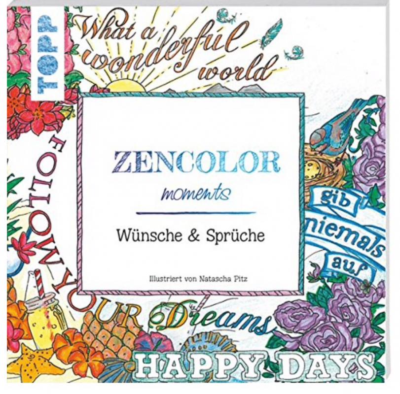 Malen für Erwachsene Zencolor Malbuch