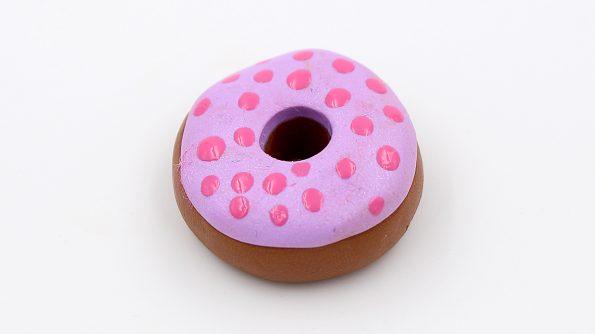 DIY Fimo Schmuck Donuts Anleitung 4