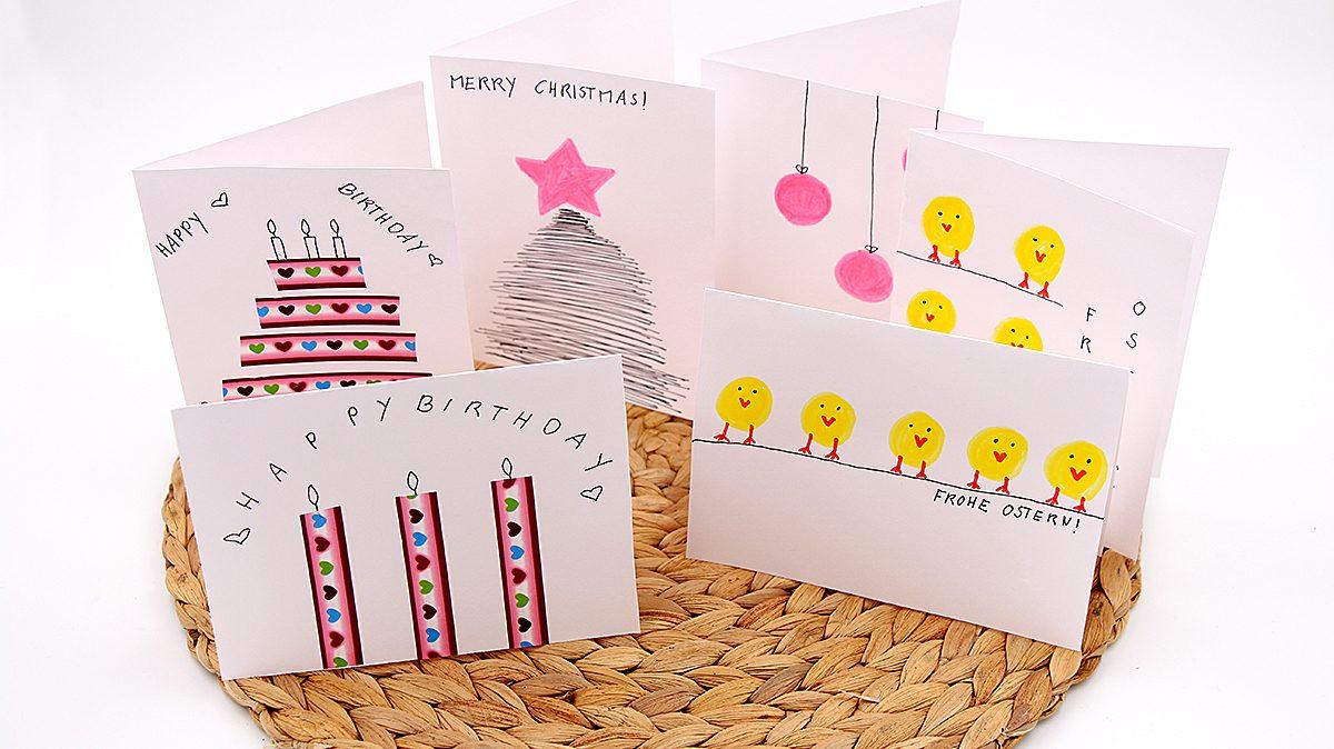 Selbst gemachte Karten DIY