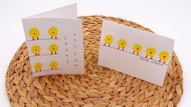 Selbst gemachte Karten Ostern