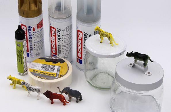 DIY Gläser upcyceln