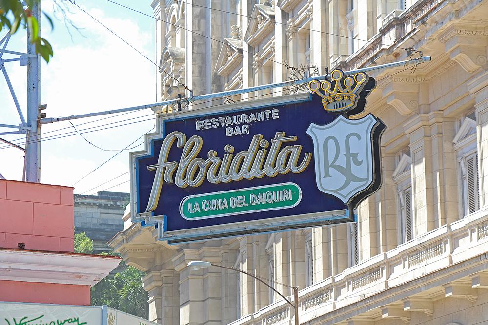 Kuba Havanna El Floridata