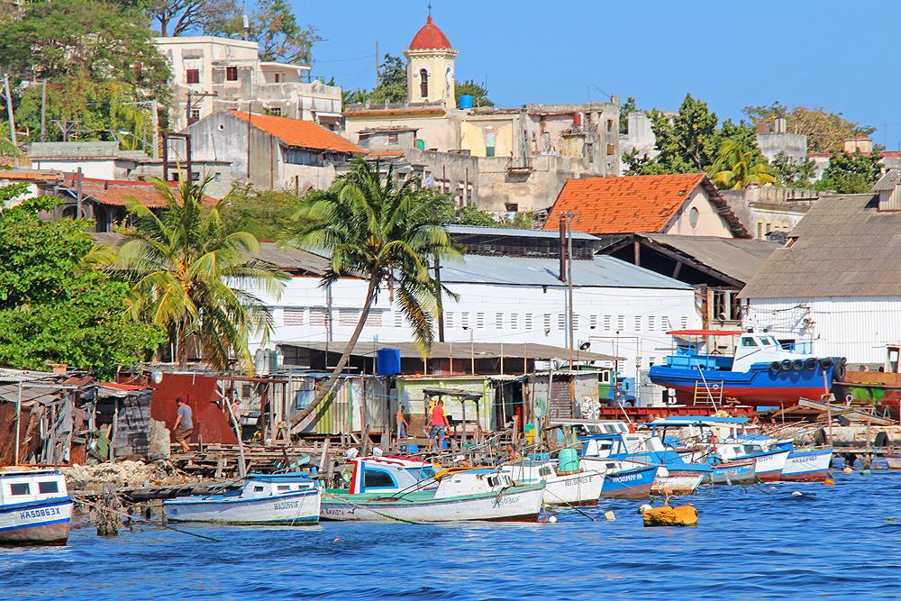 Lanchita des Casablanca in der Bucht von Havanna.