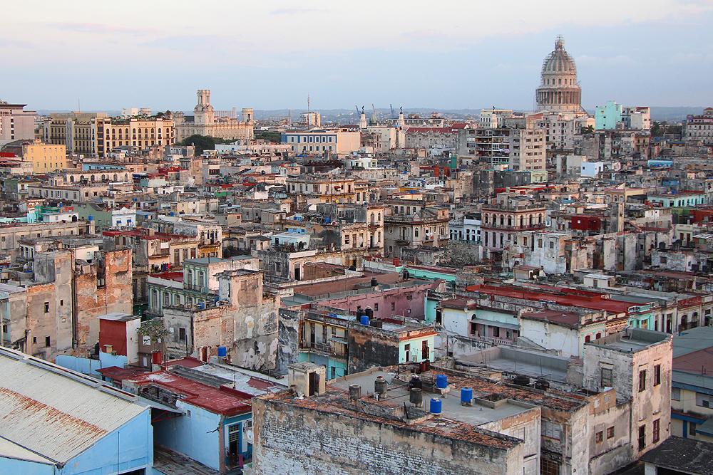 Über den Dächern Havannas.