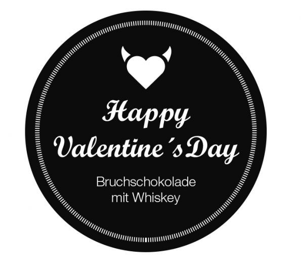 Schokolade selber machen zum Valentinstag süßes DIY geschenk für ihn