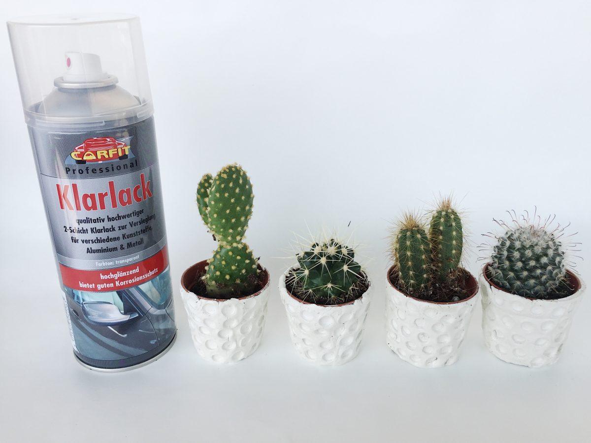 DIY Blumentöpfe mit Fimo Air selbst machen