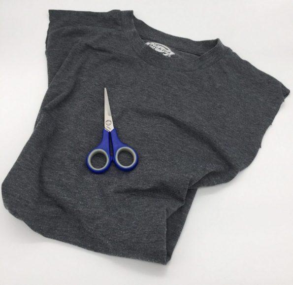 Ärmel T-Shirt abschneiden