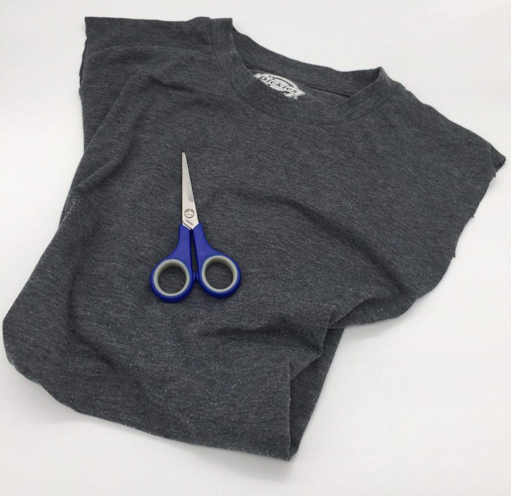 tasche aus einem t shirt selbst machen ohne n hen. Black Bedroom Furniture Sets. Home Design Ideas