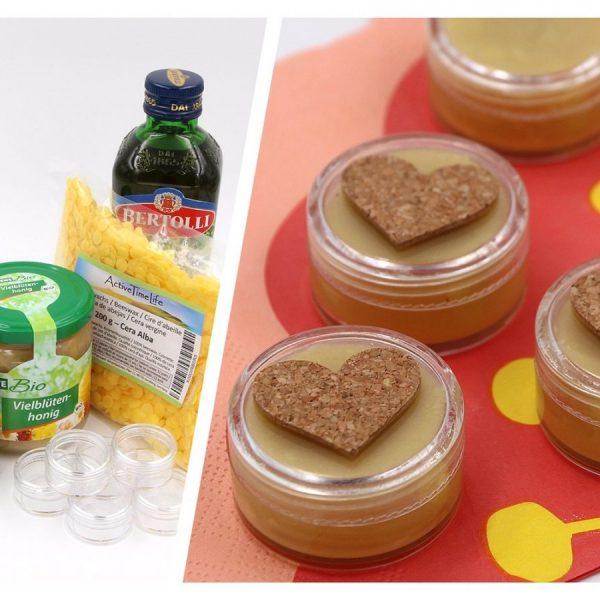 DIY Kosmetik Lippenbalsam selbst machen