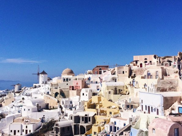 Sehenswürdigkeiten Santorin