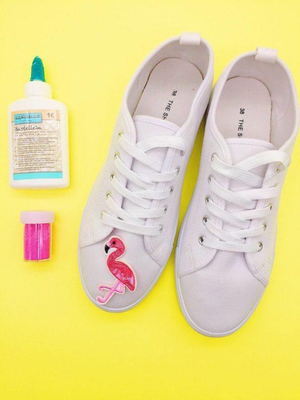 DIY Kleidung Schuhe mit Patches selber machen