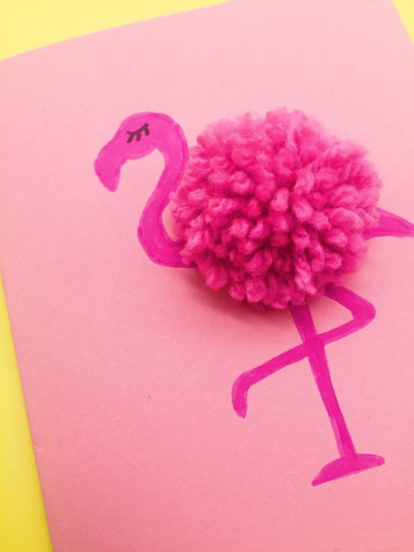 drei einfache diy deko und bastelideen mit flamingos happy dings blog diy projekte und tipps. Black Bedroom Furniture Sets. Home Design Ideas
