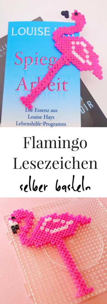 Drei einfache DIY Deko und Bastelideen mit Flamingos Lesezeichen Bügelperlen