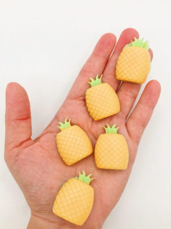 Ananas Seife selber machen - schöne DIY Geschenke