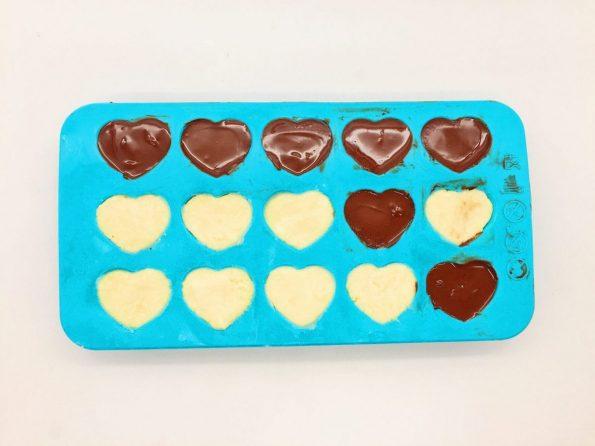 DIY Schokoladen Rezepte: Schoko Herzen selber machen
