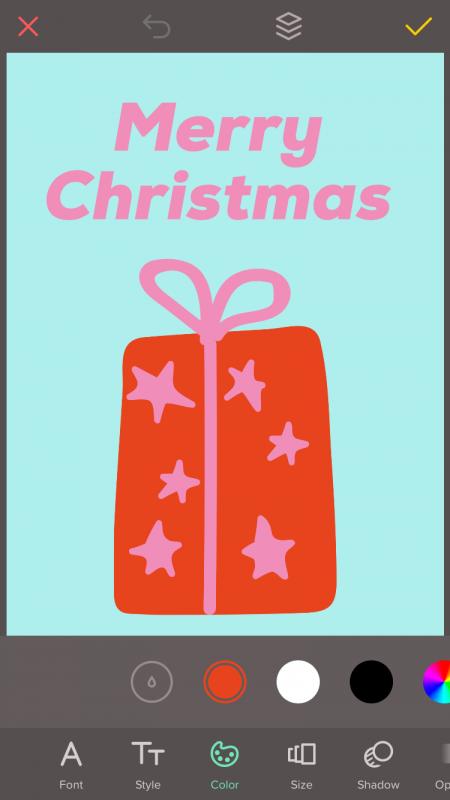 Last Minute Weihnachtskarten selber machen