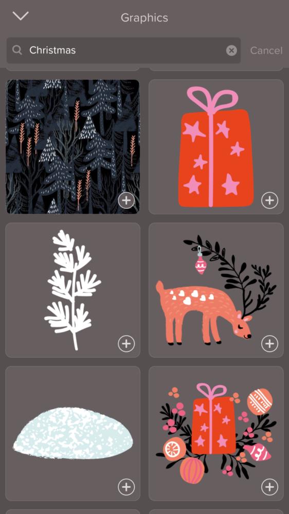 last minute weihnachtskarten basteln einfach und schnell mit over handy app happy dings. Black Bedroom Furniture Sets. Home Design Ideas