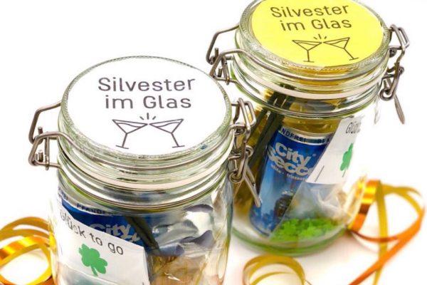 Geschenkideen für Silvester Gast Geschenke selber machen