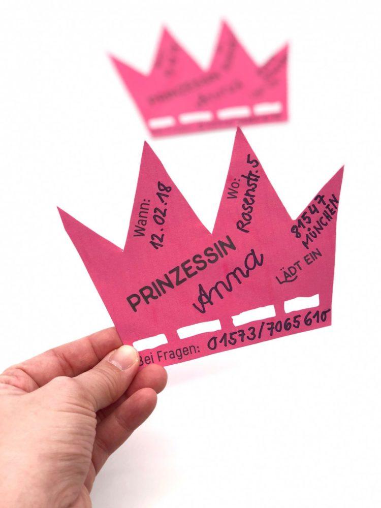 Einladungskarten Basteln Kindergeburtstag #65: Kindergeburtstag Ideen: Einladungskarten  Basteln Für Mädchen