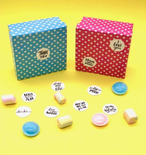 DIY Geschenke selber machen: Aufkleber für jeden Anlass