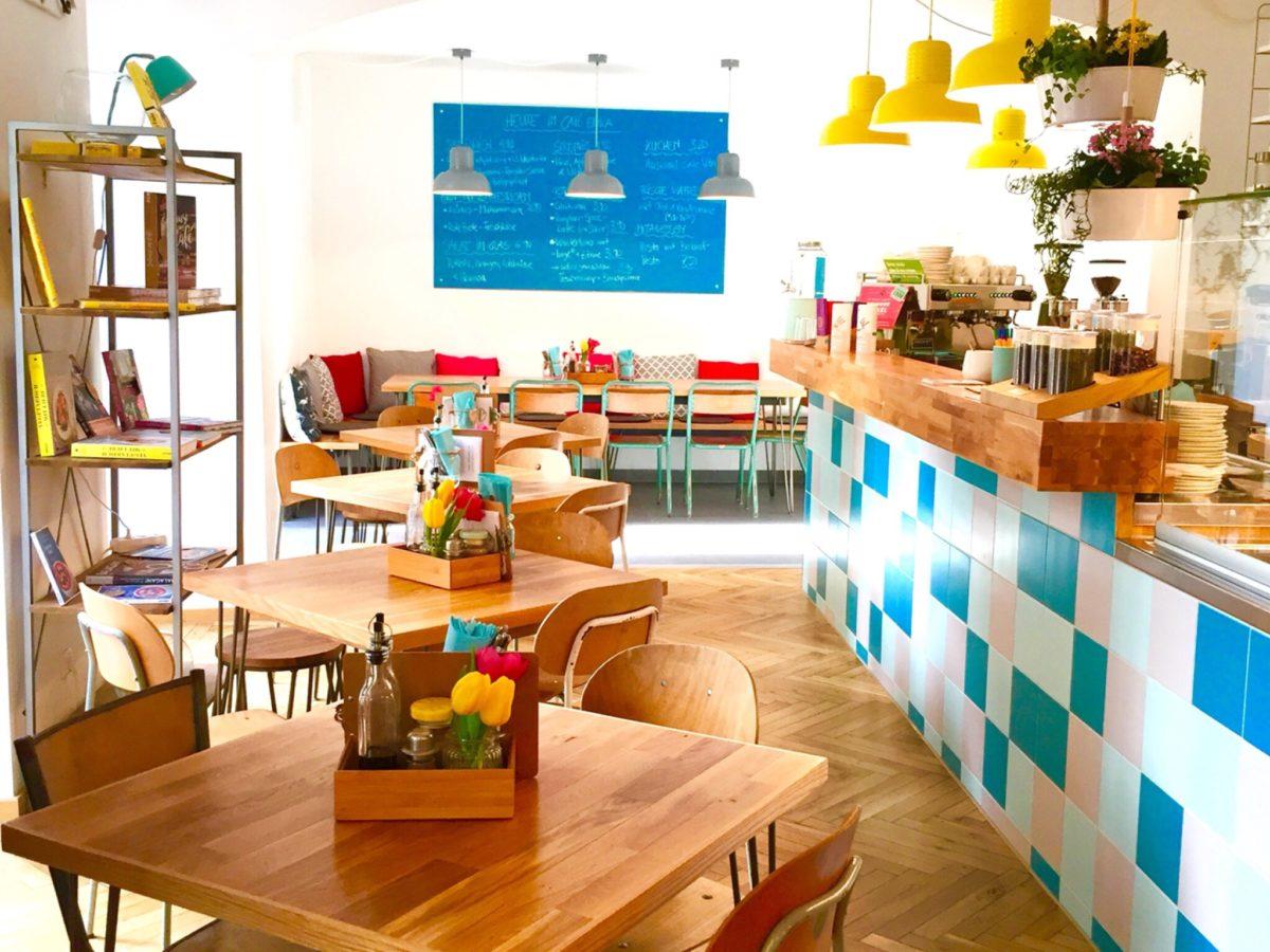 Frühstücken in München Cafe Erika in Sendling