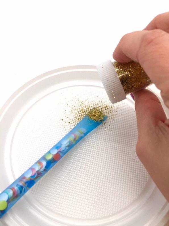geburtstagskarte zum ausdrucken selber machen mit konfetti. Black Bedroom Furniture Sets. Home Design Ideas