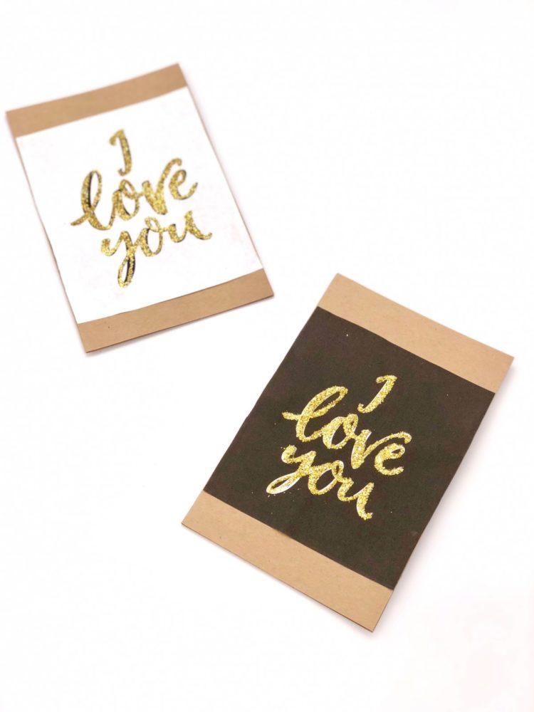 Süße Karten Zum Valentinstag Selbst Gestalten ...