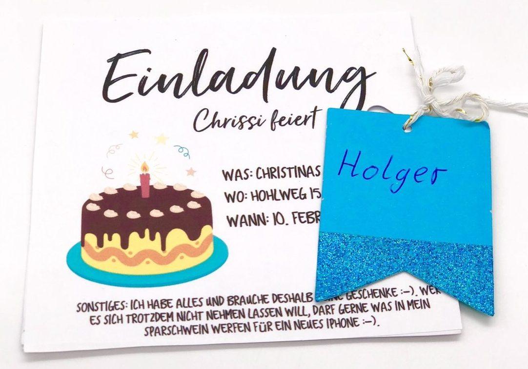 Schöne DIY Ideen - Einladungskarten selbst gestalten zum Geburtstag