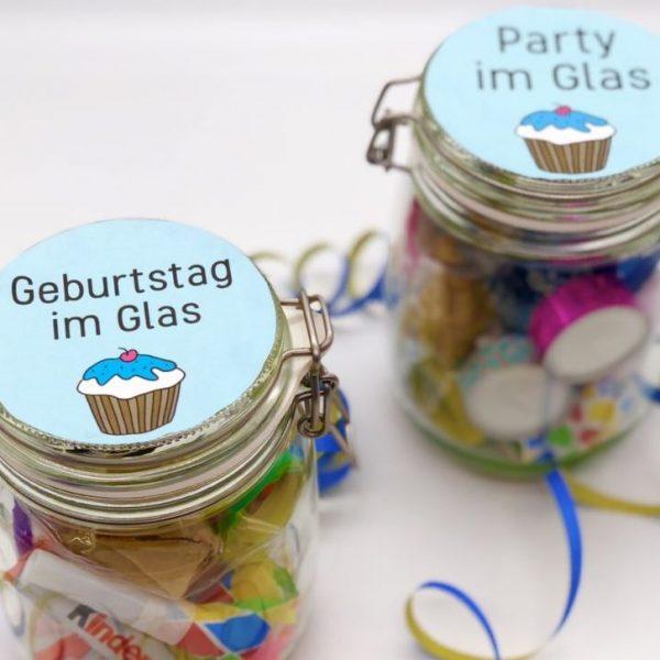 Geschenkideen zum Geburtstag oder Party Mitbringsel selber machen