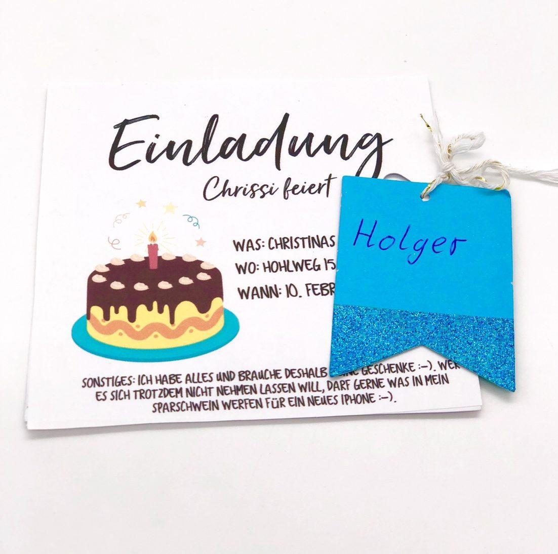 Einladungskarten Geburtstag Selbst Gestalten