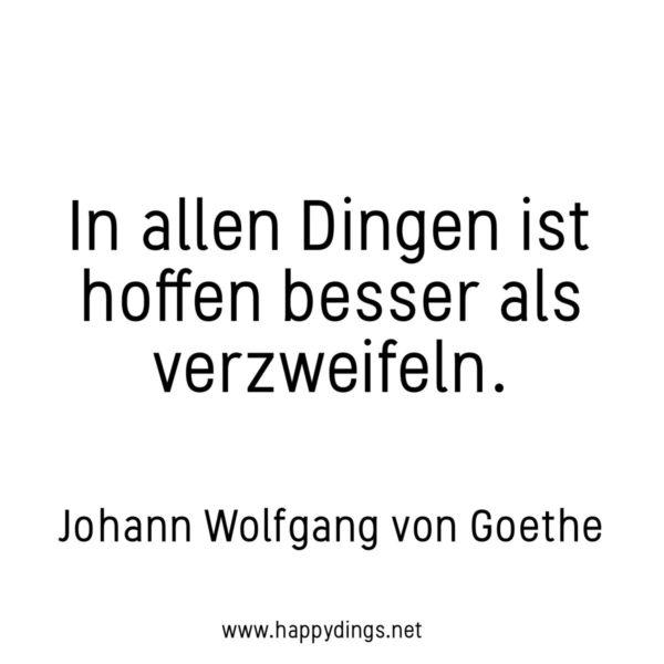 Zitate, schöne Sprüche und Lebensweisheiten Goethe