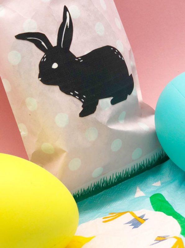 Ostergeschenke basteln aus Papiertüten