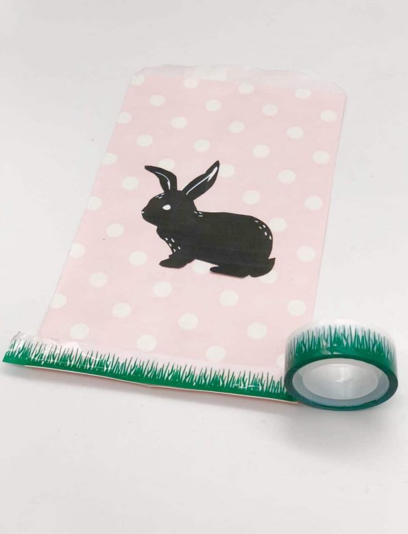 Ostergeschenke mit Papiertüten selber machen