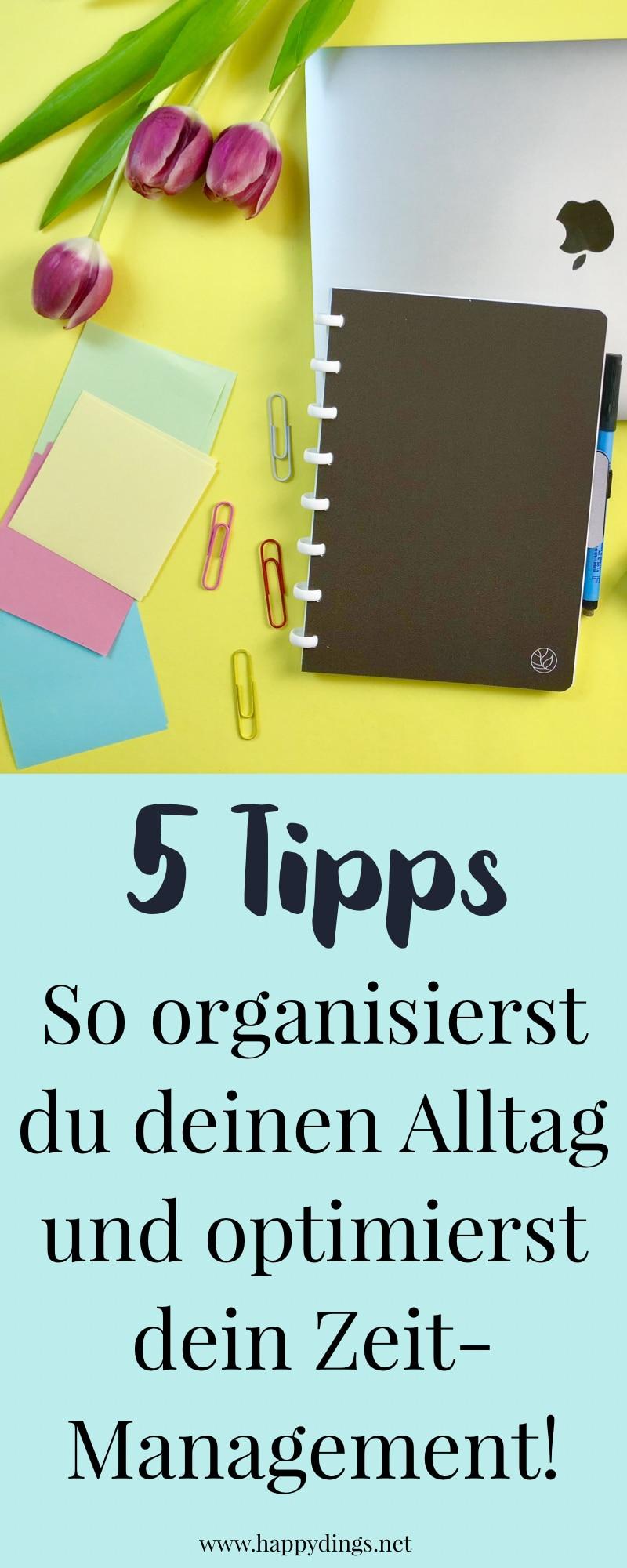 Tipps für deine Arbeitsorganisation und dein Zeitmanagement