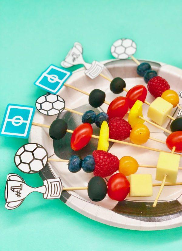 Gesunde Spieße als gesunder Snacks zur Fußball WM in Kooperation mit OTTO