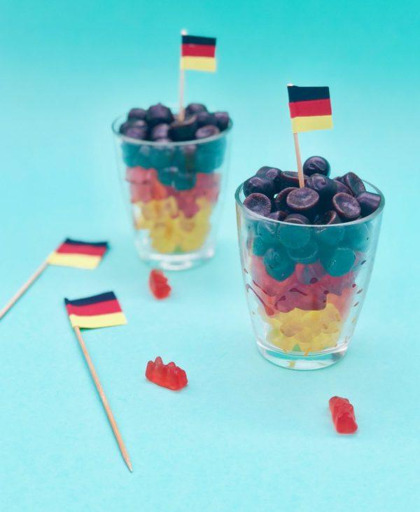 Kleien Snacks - Gummibärchen für die Fußball Party in Zusammenarbeit mit OTTO