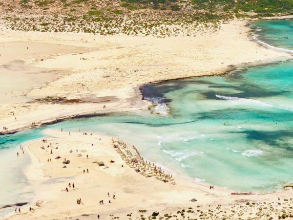 Kreta Urlaub Reisetipps Balos Beach im Westen