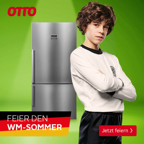 OTTO Werbung zur Fußball WM 2018