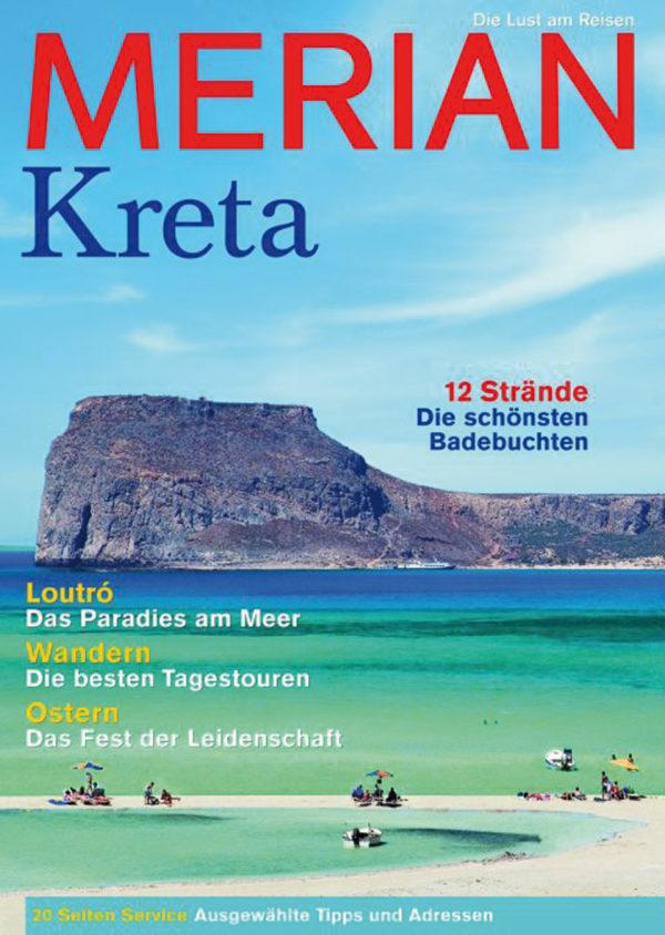 Reiseführer für den Kreta Urlaub Merian Heft