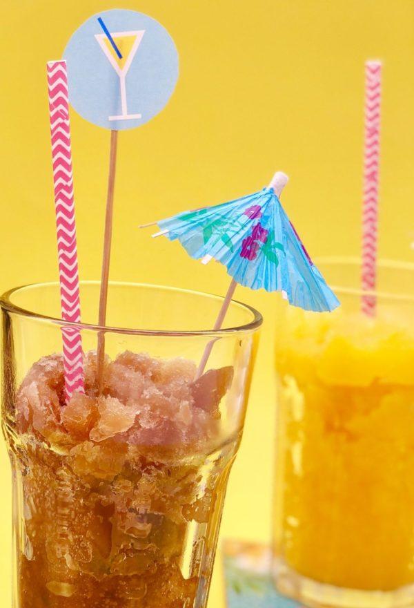 Schöne Ideen für die Sommerparty mit Frozen Cocktails von Käfer