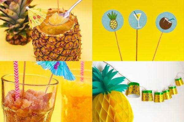 Schöne Party Ideen für die perfekte Ommerparty mit Käfer Frozen Cocktails