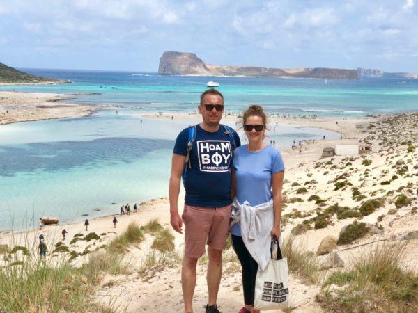 Traumhafter Strand wie in der Karibik: Balos Beach auf Kreta