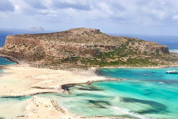 Traumstrand auf Kreta Balos Beach