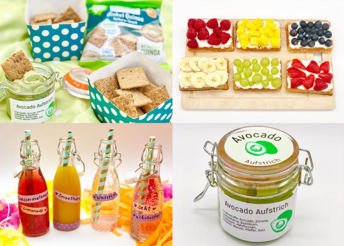 Gesunde Snacks für Zwischendurch oder das Sommer Picknick mit Dr. Karg´s
