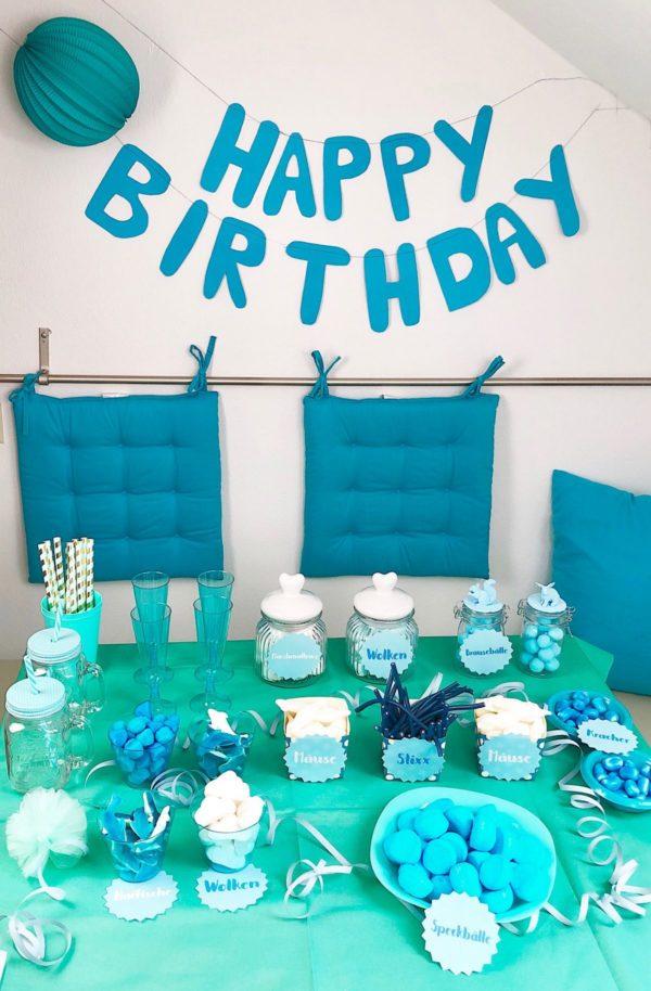 Candy Bar selber machen zum Geburtstag