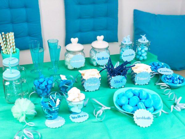 Candy Bar selber machen zum Geburtstag oder zur Hochzeit
