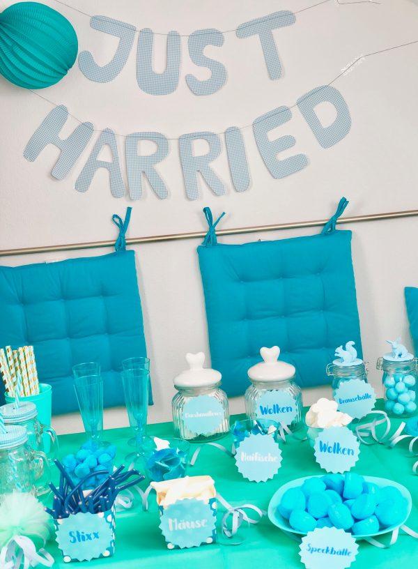 Candy Bar selber machen zur Hochzeit